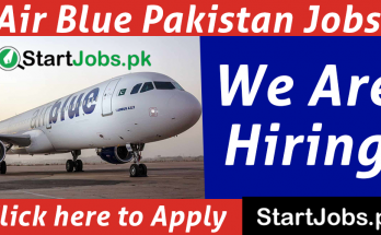 Air Blue Jobs 2021 May For Male & Female