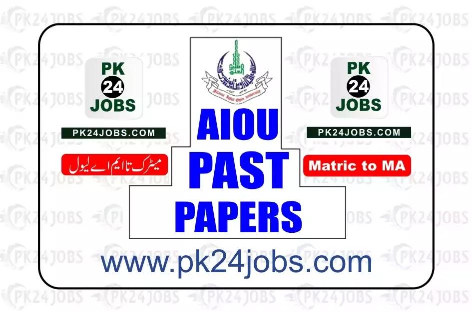 AIOU Past Paper Course Code 200 Matric Level